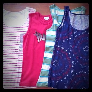 NWT Womens White Stag + more Tank Top Lot